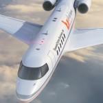 تسويق أون لاين بزنس جيت - نظرة من أعلى على الطائرة