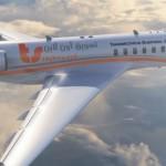 تسويق أون لاين بزنس جيت - نظرة على الجانب الأيمن للطائرة